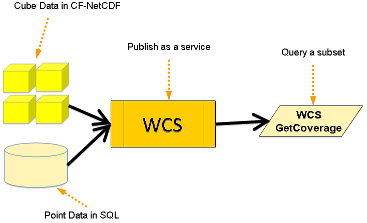 create wcs service from cf-netcd files